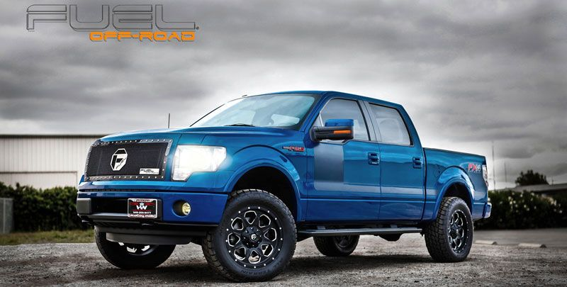 2014 Ford F150 » BRAND FUEL ONE PIECE WHEEL D534