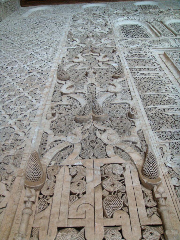 Gypsum detail_Marrakech   Islamic Inspirations   Islamic