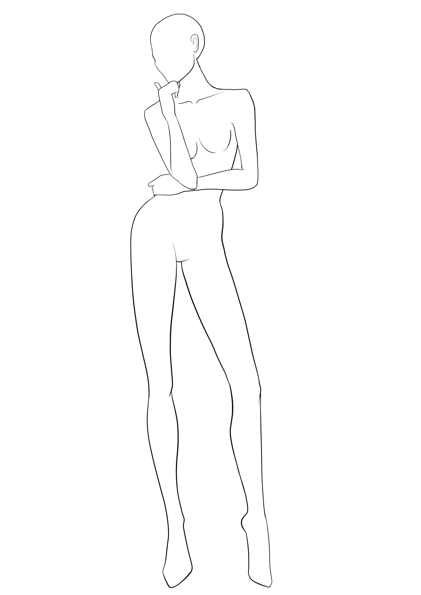Free Fashion Templates Croquis I Draw Fashion Fashion Illustration Poses Fashion Figure Templates Fashion Figure Drawing