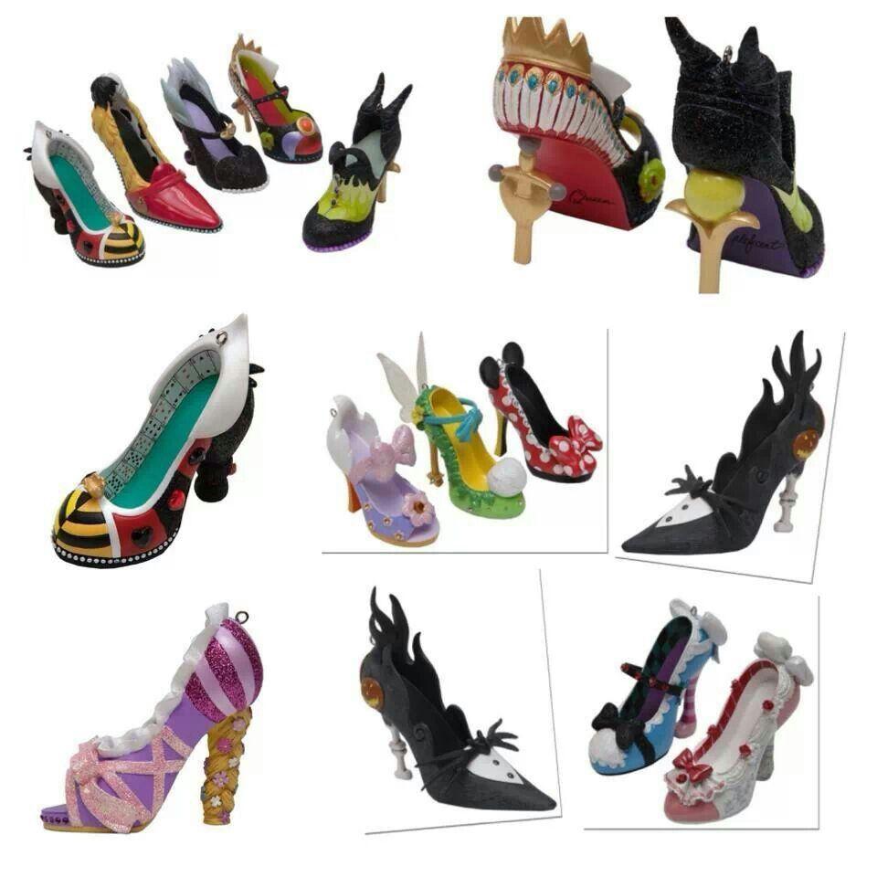 Shoe ornament clips - Disney Shoe Ornaments For Christmas Tree