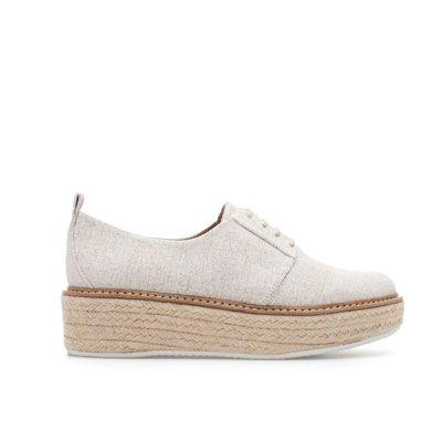 13cc0e88ff BLUCHER PLATAFORMA RAFIA - Zapatos Planos - Zapatos - Mujer