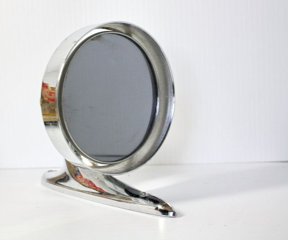 Vintage Auto Side Mirror 1940s 50s Unused in by EmeliasCupboard, $25.00