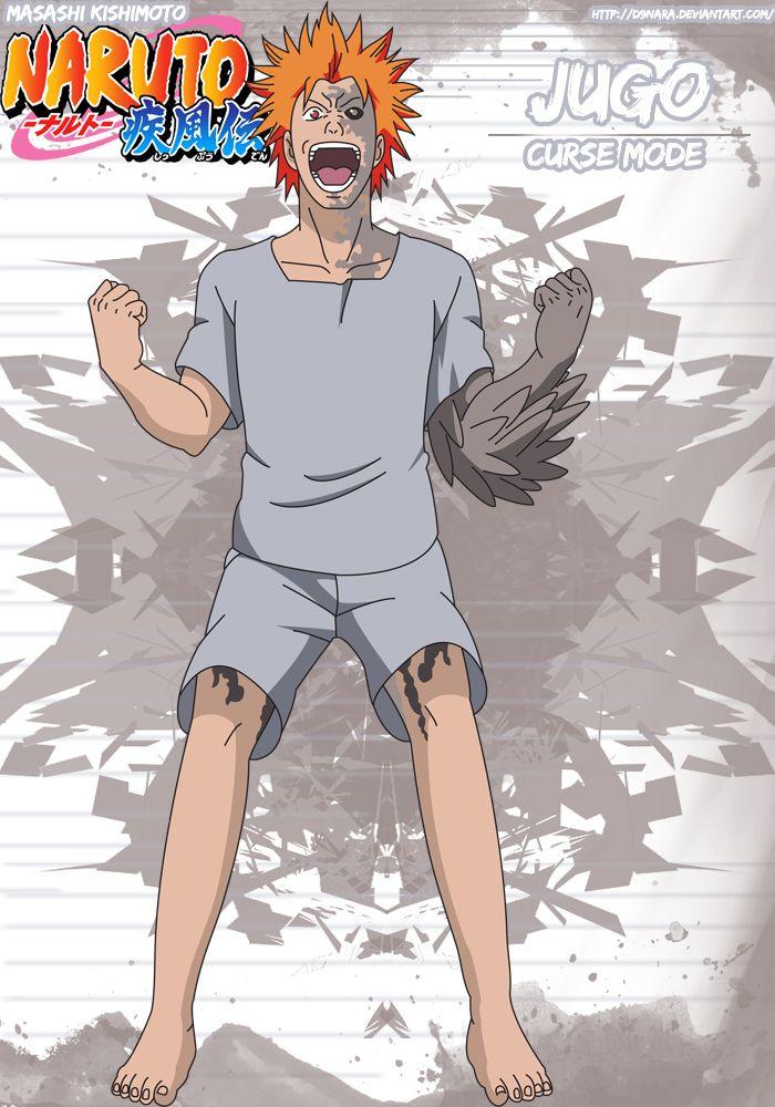 Jugo Curse Mode By D9nara Naruto Boys Naruto Sasuke Uchiha