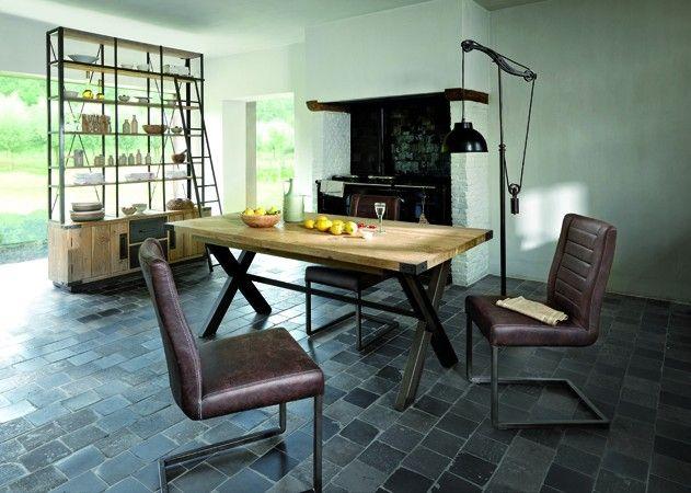 Table De Repas STATION Monsieur Meuble Idées Déco Pinterest - Monsieur meuble table salle a manger pour idees de deco de cuisine