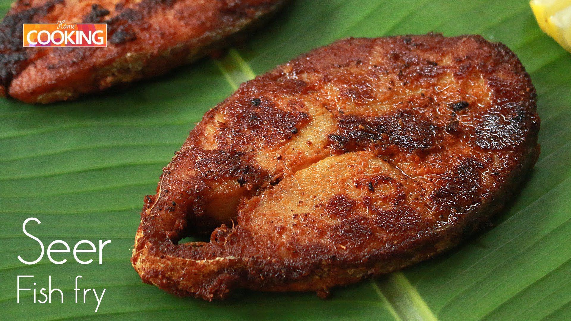 Seer Fish Fry Non Veg Starters Ventuno Home Cooking Fried Fish Fried Fish Recipes Cooking