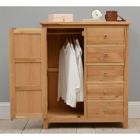 Best Quercus Oak Combination Wardrobe 508 011 Quality Wooden 400 x 300