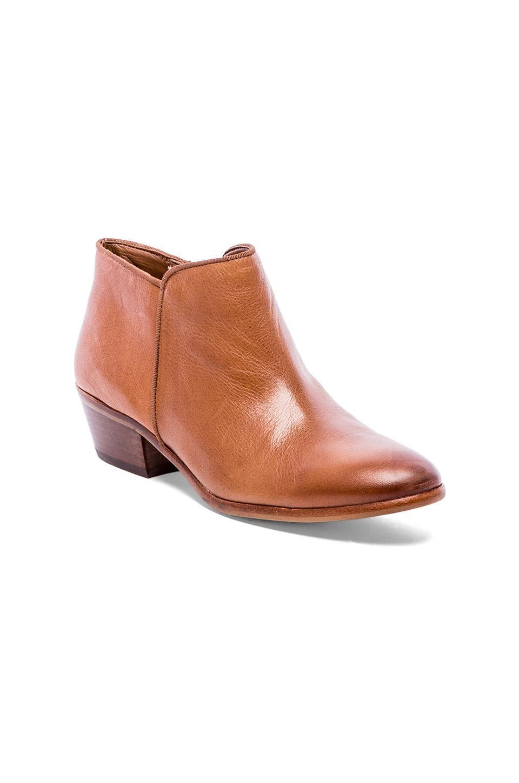 1a3a6889d1ba2 Sam Edelman Petty Bootie in Deep Saddle Vintage Leather