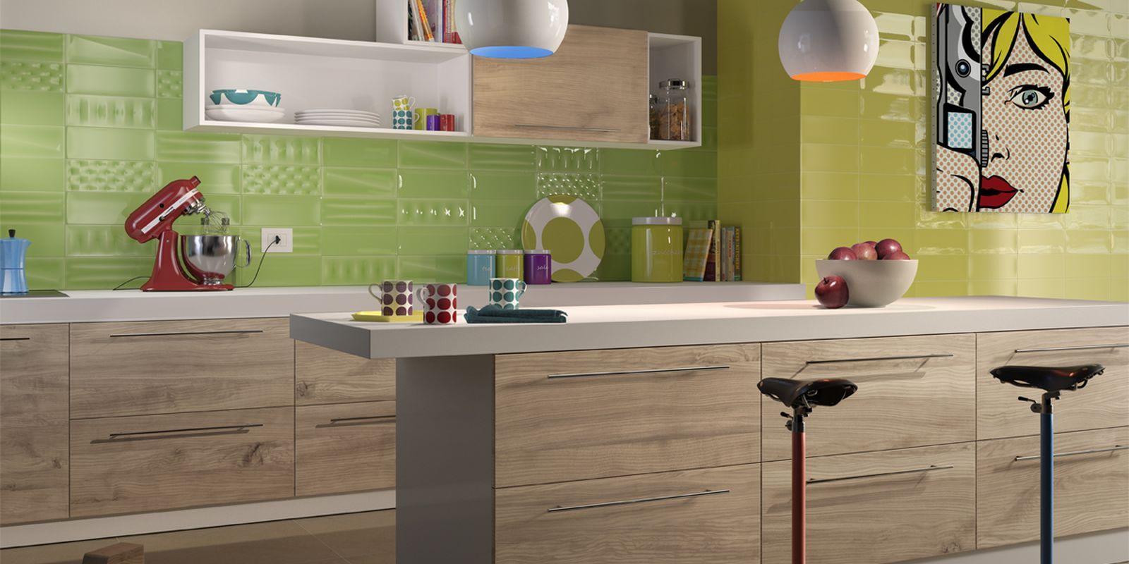 PIASTRELLE POP, cucina moderno ceramica bicottura da ...