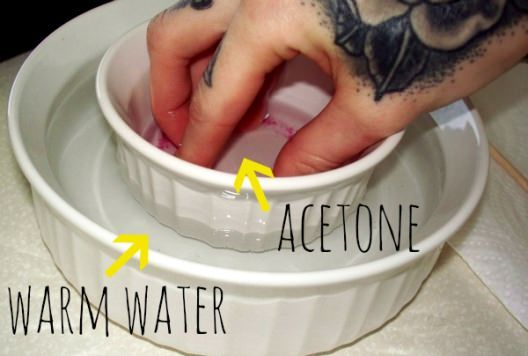 How To Remove Acrylic Nails At Home Take Off Acrylic Nails Gel Nail Removal Acrylic Nails At Home