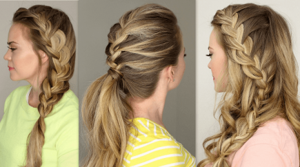 French Braid Hairstyles Fair Pinmorgan Miller On Hair  Pinterest
