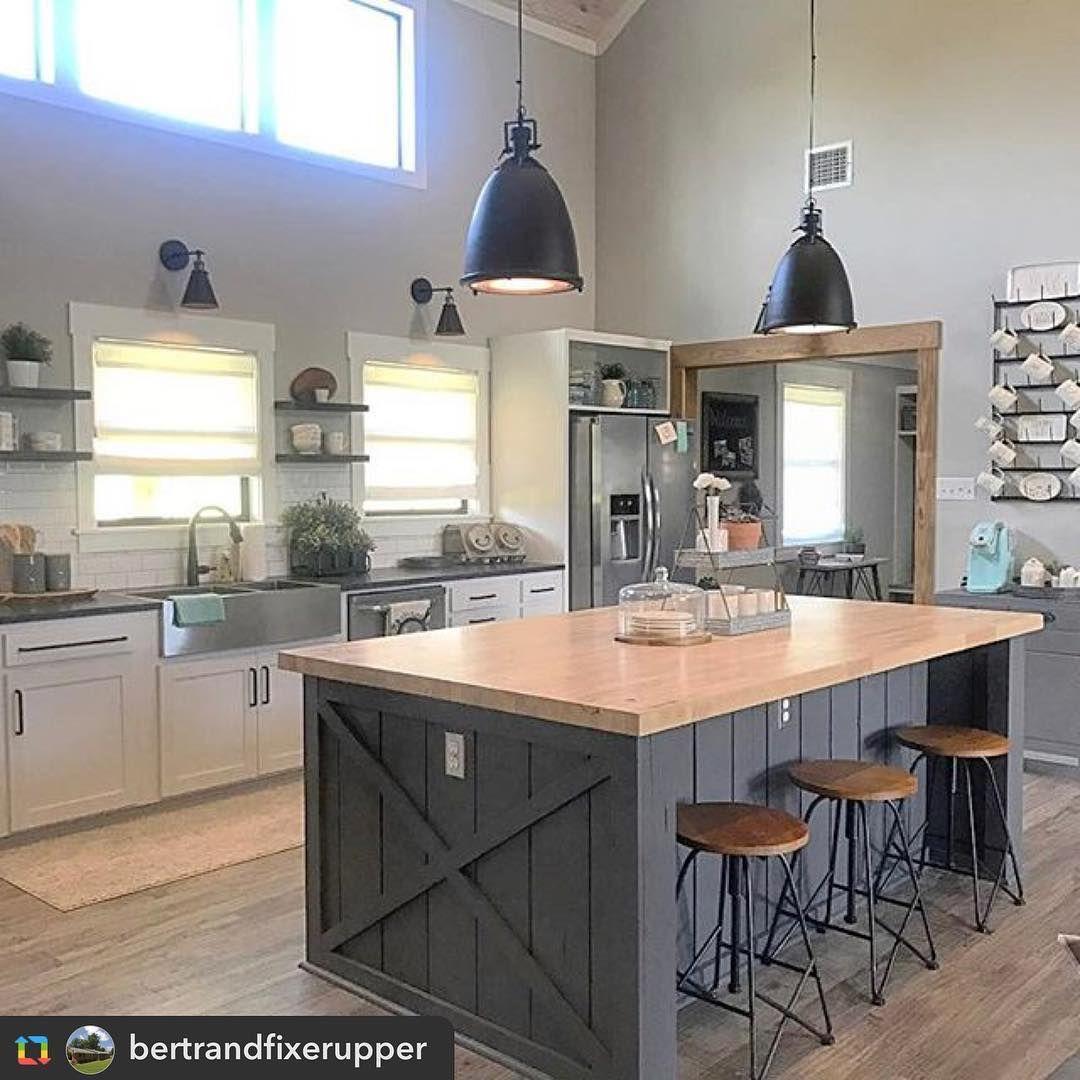 Kitchen Inspo Orange Coast Interior Design Via Instagram Sunny Fresh Cute Farmhouse Kitchen