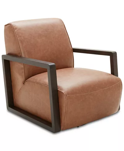 Furniture Laser 30 Leather Accent Swivel Chair Reviews Chairs Furniture Mac Fabric Sectional Sofas Modern Swivel Chair Mid Century Modern Swivel Chair