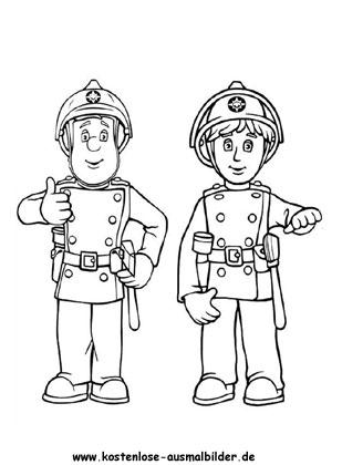 Ausmalbild Feuerwehrmann Sam Coloring Pages For Kids Fireman Sam Fireman Sam Birthday Party