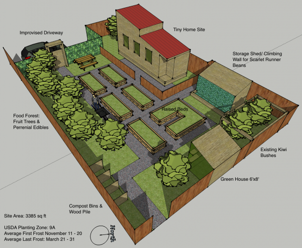 Permaculture garden plan sketchup this would be awesome for Compound garden designs
