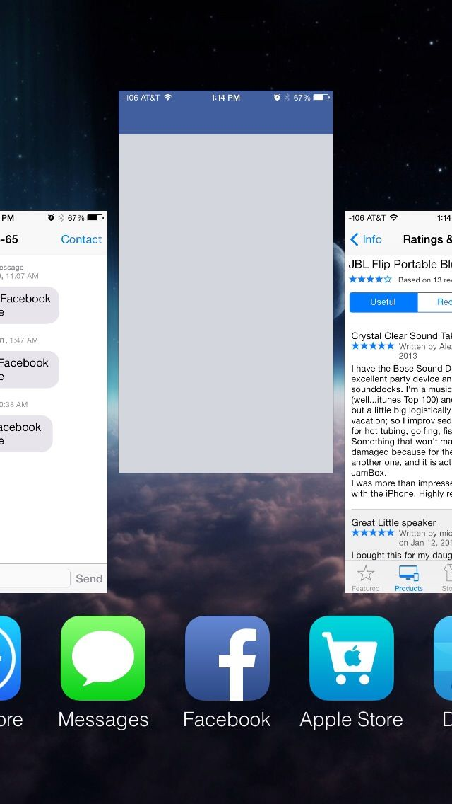 How to Force Close Apps on iOS 7 Ios 7, App, Iphone