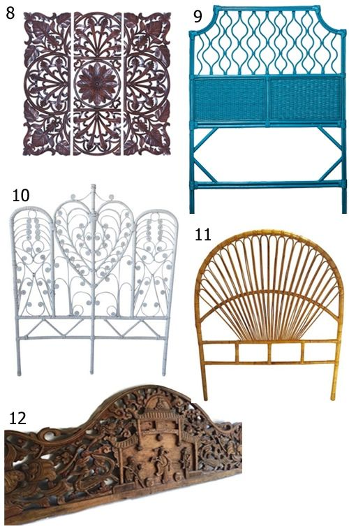 Get The Look 12 Boho Headboards Rattan Headboard Boho