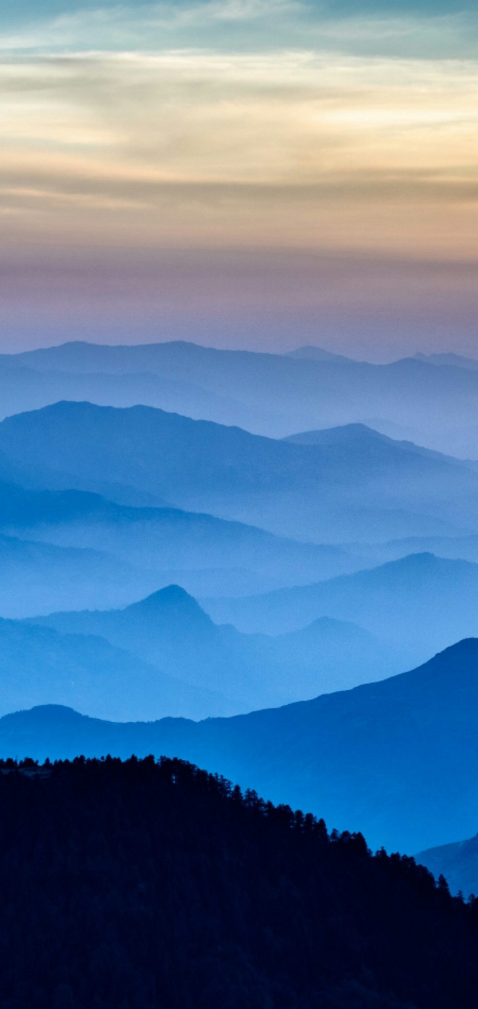 1080x2280 light blue Wallpaper HD Wallpaper in 2020