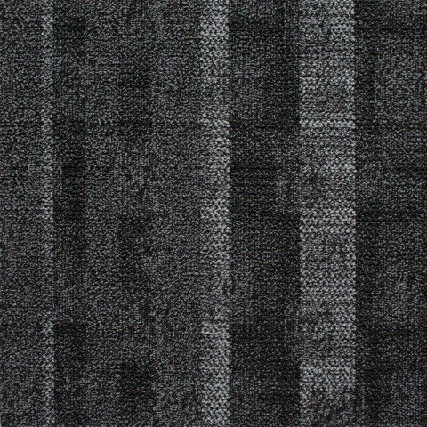 Above Left Carpet Tile Barley Black Smash Fabric In