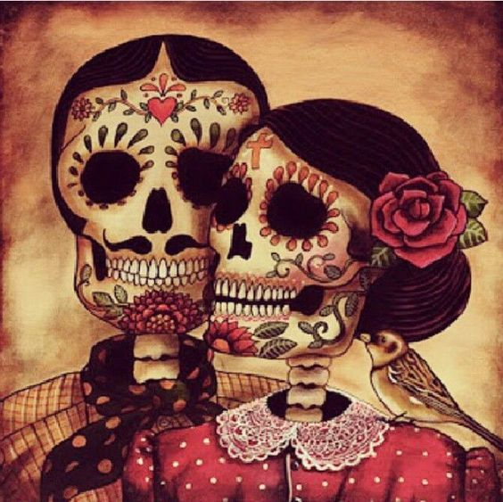 Dia De Los Muertos Art In 2019 Day Of The Dead Art