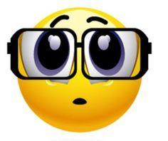 Image result for emoji with nerd glasses