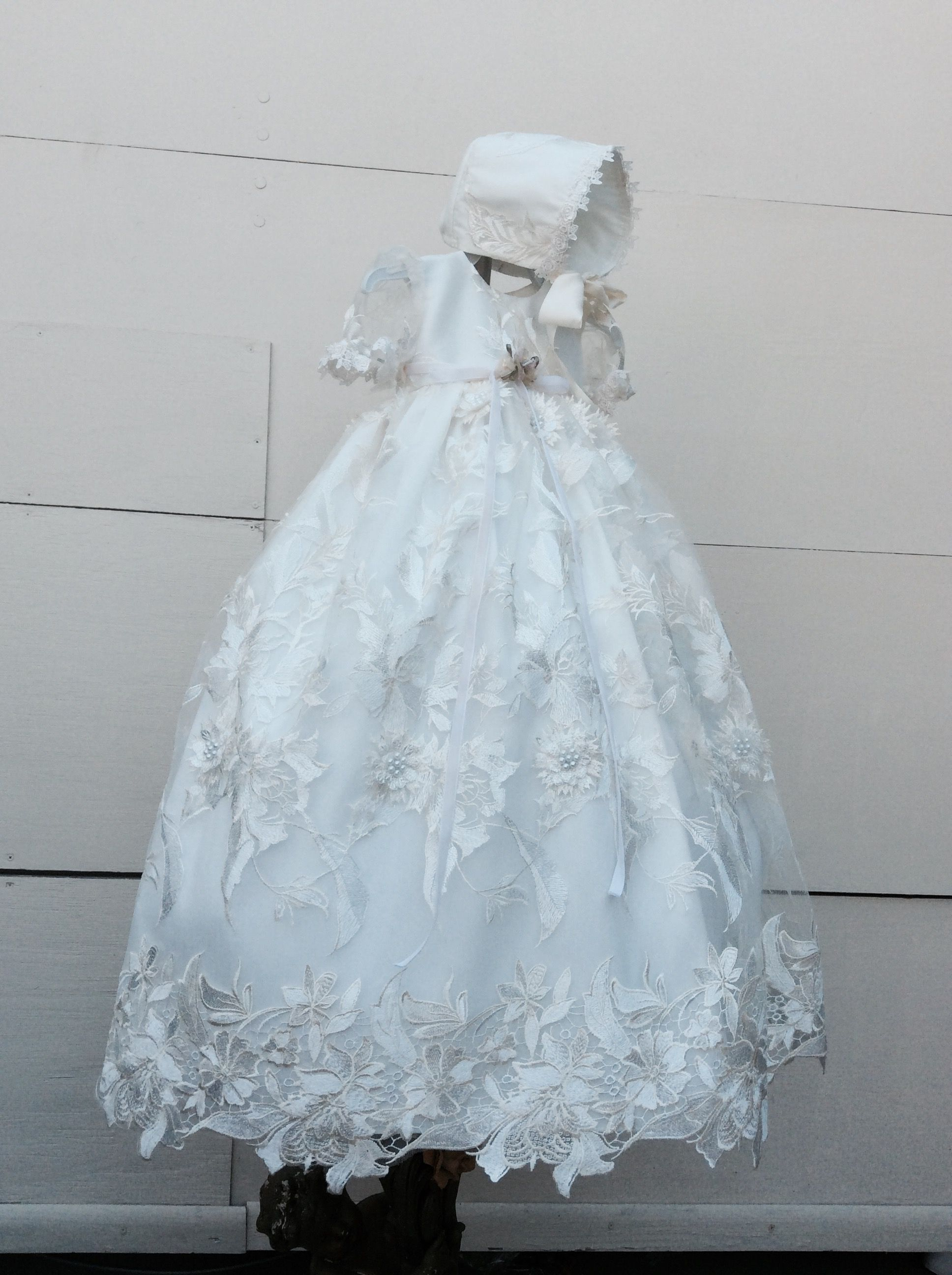 Pin by Elena Collection on Bellissimo Baptism Gowns | Pinterest