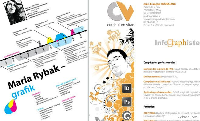 50 Creative Resume Design Samples that will make you rethink your - how to make a creative resume