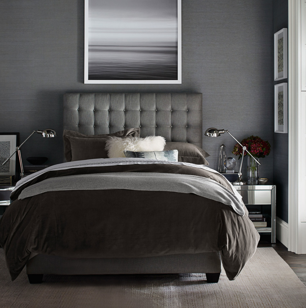 Best All Gray Everything Looks Stunning On This Stylish Guest 400 x 300