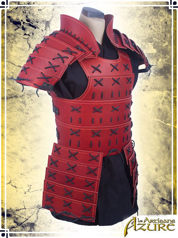 Samurai-Rüstung mit Pauldrons                                                                                                                                                                                 Mehr