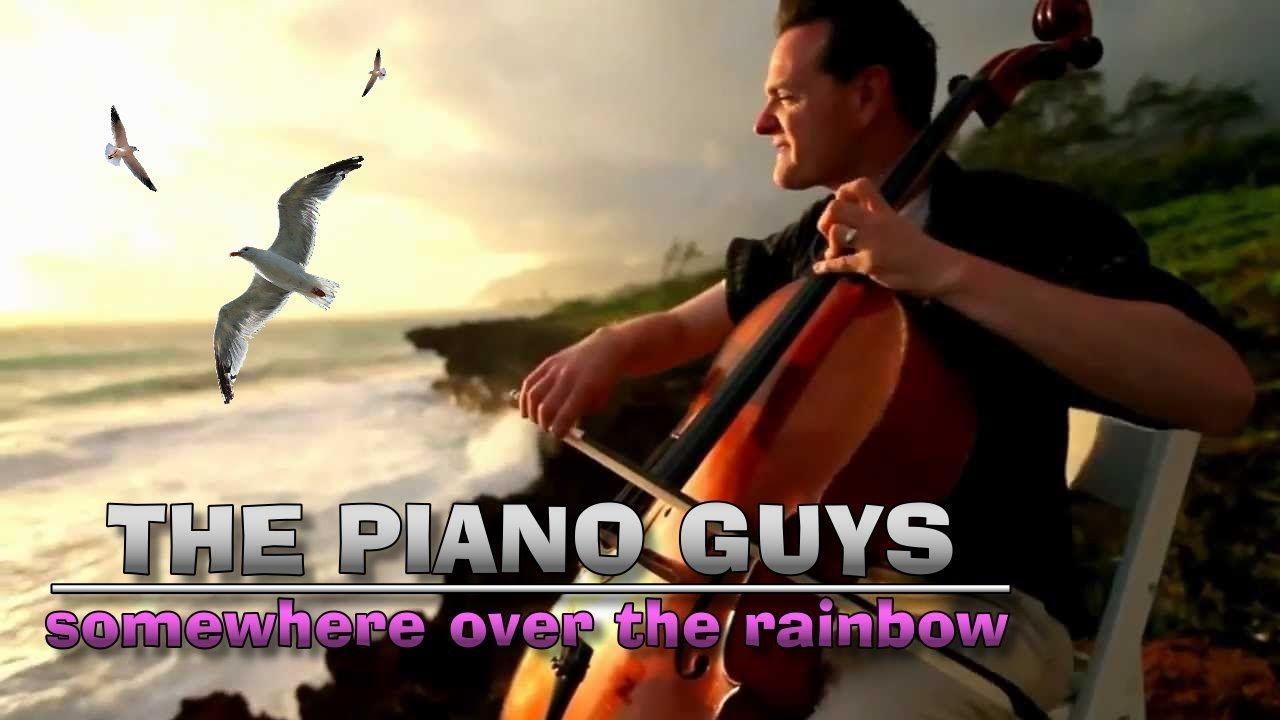 The Piano Guys Somewhere Over Rainbow En Algun Lugar Sobre