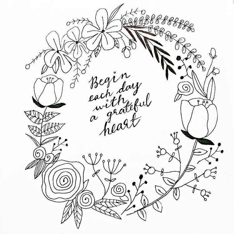 Flower wreath | Wreath drawing, Flower doodles, Embroidery ...