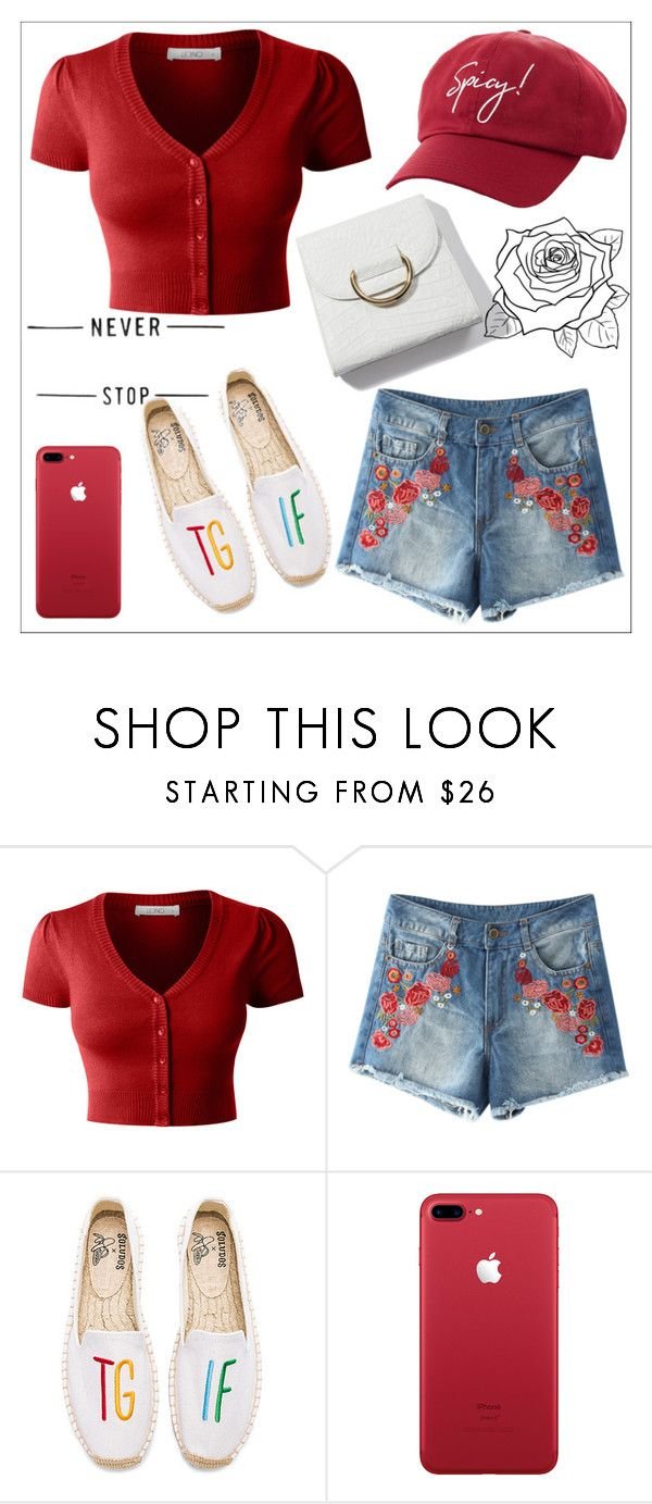 """""""Untitled #656"""" by chanlee-luv ❤ liked on Polyvore featuring LE3NO, Soludos and Charlotte Russe"""