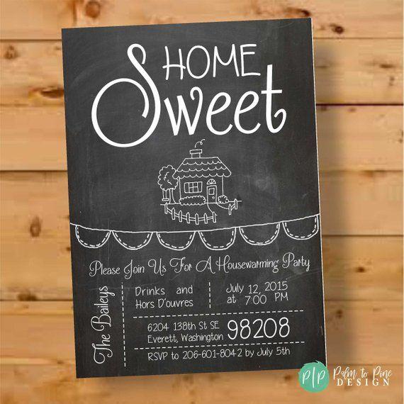 Housewarming Invitation, Housewarming Invite, Hous