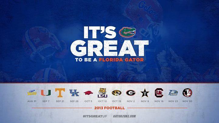 Florida Gators Football Schedule Wallpaper Gators