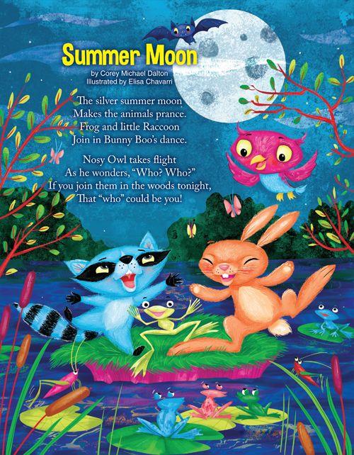 """Summer Moon"" by Corey Michael Dalton | Turtle Magazine"
