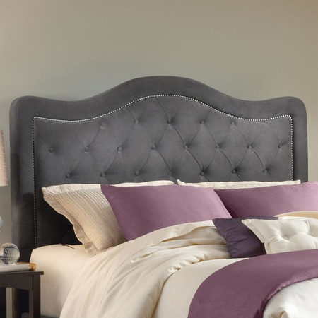 I Pinned This Trieste Tufted Headboard In Pewter From The Our