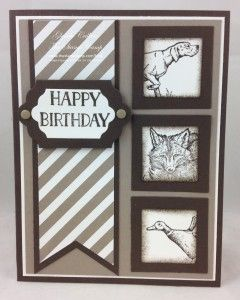 Masculine Monday Stampin' Up! The Wilderness Awaits! | The Stamp Camp