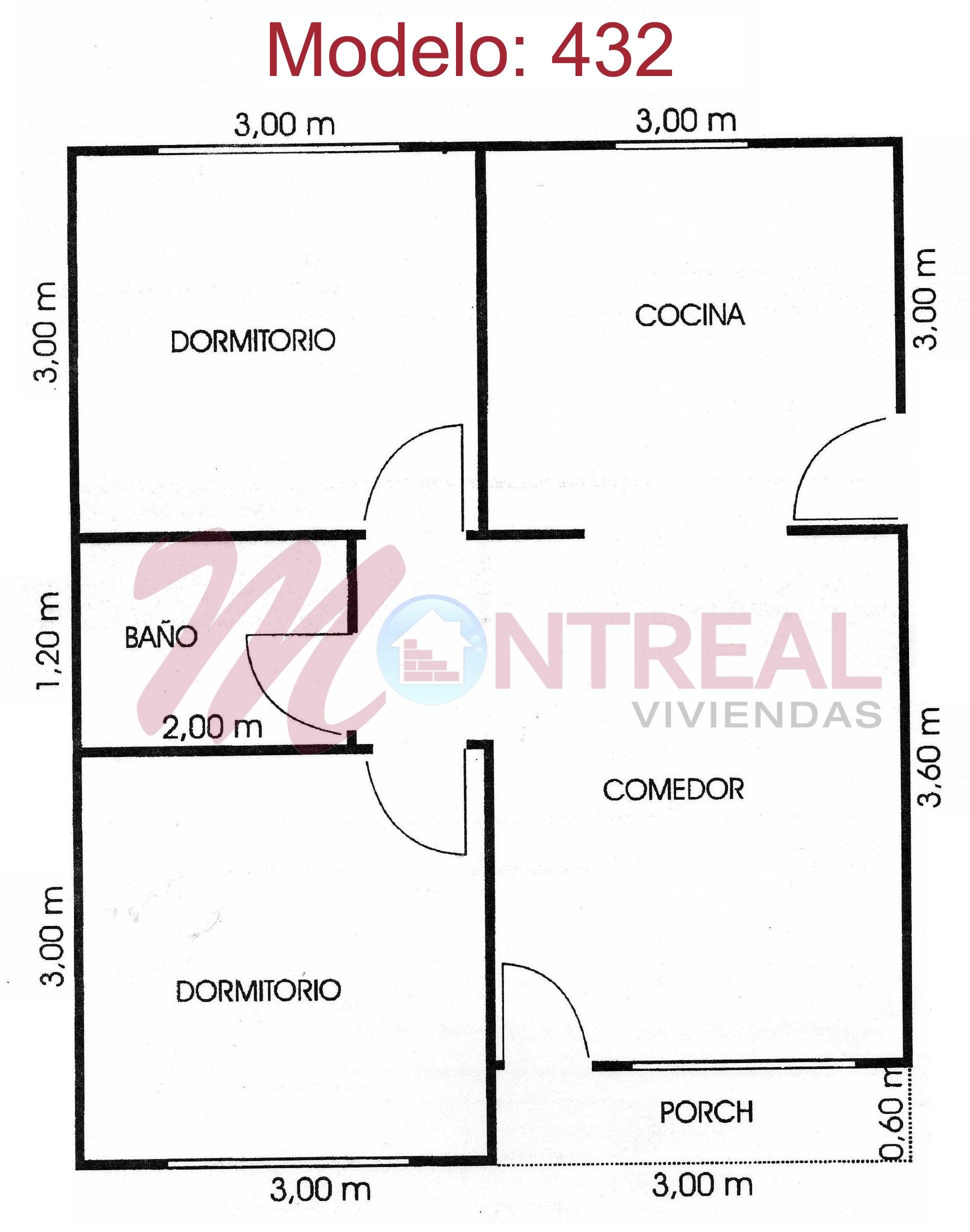 Plano modelo 432 planos pinterest planos modelo y - Planos de viviendas ...