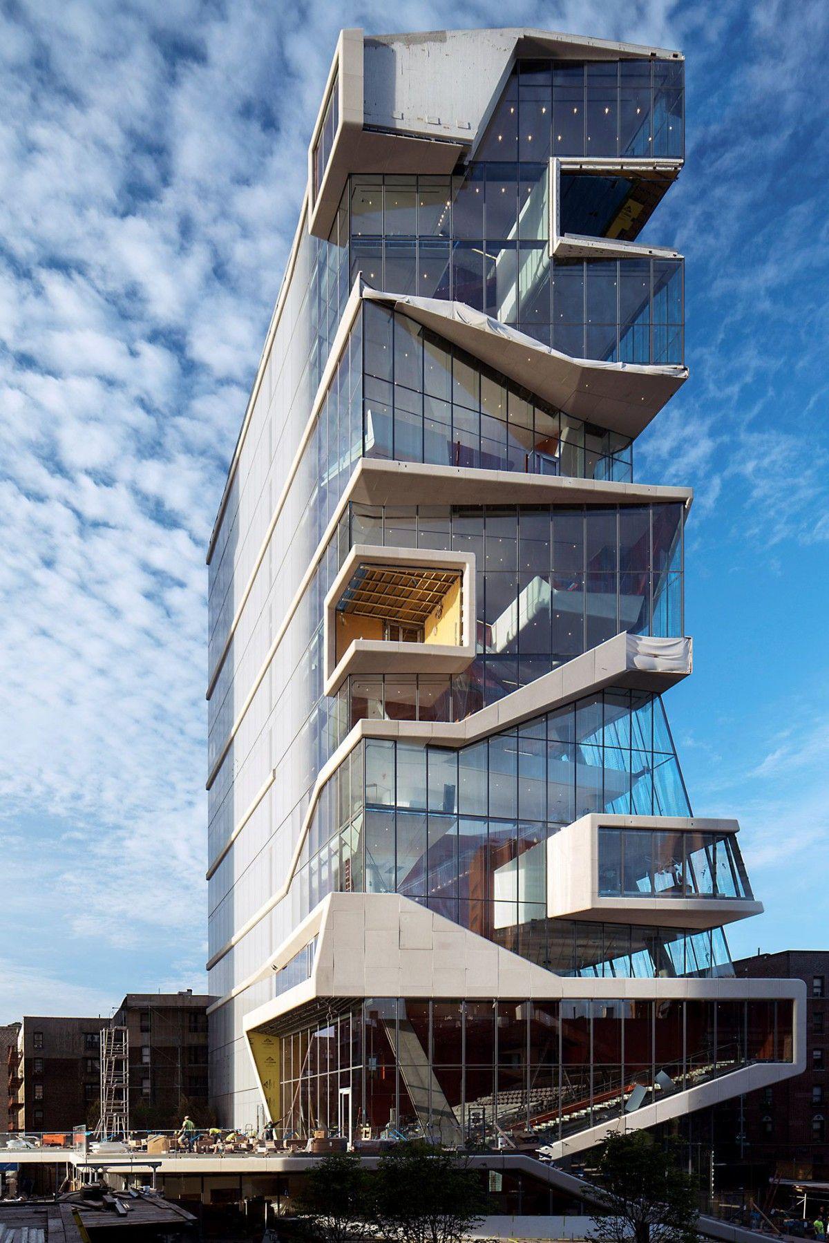 Diller scofidio renfro vagelos center new york 1 architecture architektur - Futuristische architektur ...
