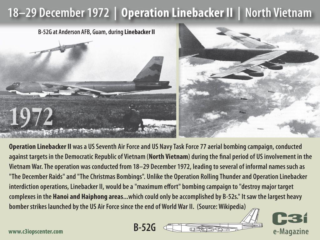 operation linebacker ii the december raids aka the christmas bombings of hanoi 1829 december 1972 largest heaviest maximum effort bombing strikes - Christmas Bombings