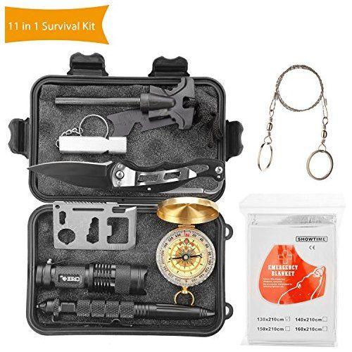 Best Halcent Überlebensausrüstung 11 In 1 Notfall Survival Kit 400 x 300