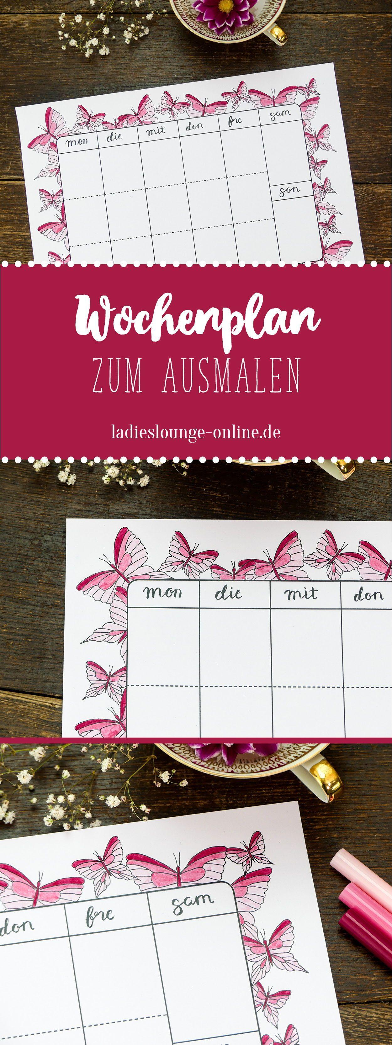 Nett Leere Wochenplanvorlage Ideen - Beispiel Business Lebenslauf ...