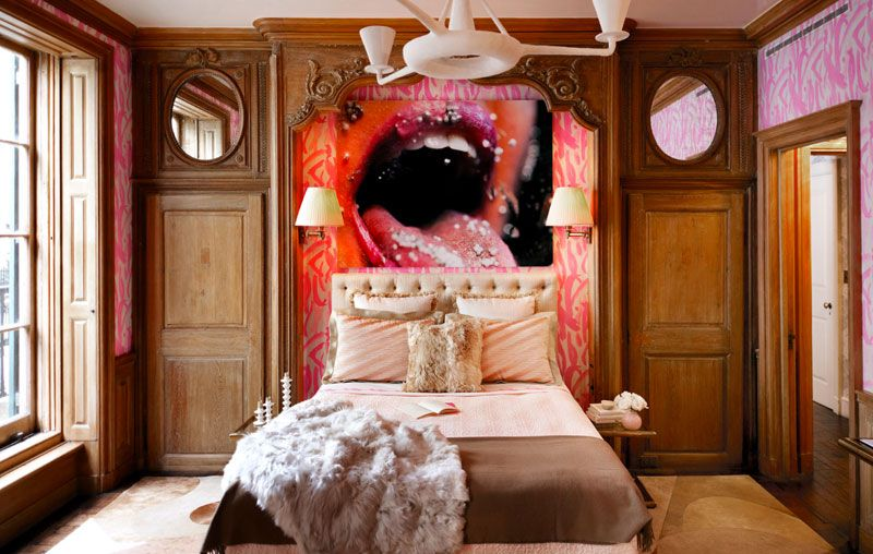Hot Bedroom Gorgeous What A Hot #bedroom Love The Wallpapergraffiti Walls With That . Decorating Design