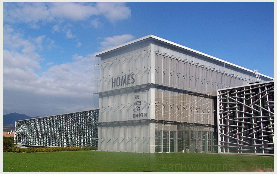 Wood facade factory google factory warehouse for Warehouse building design