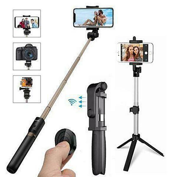 4 in 1 Wireless Bluetooth Selfie Stick new presents