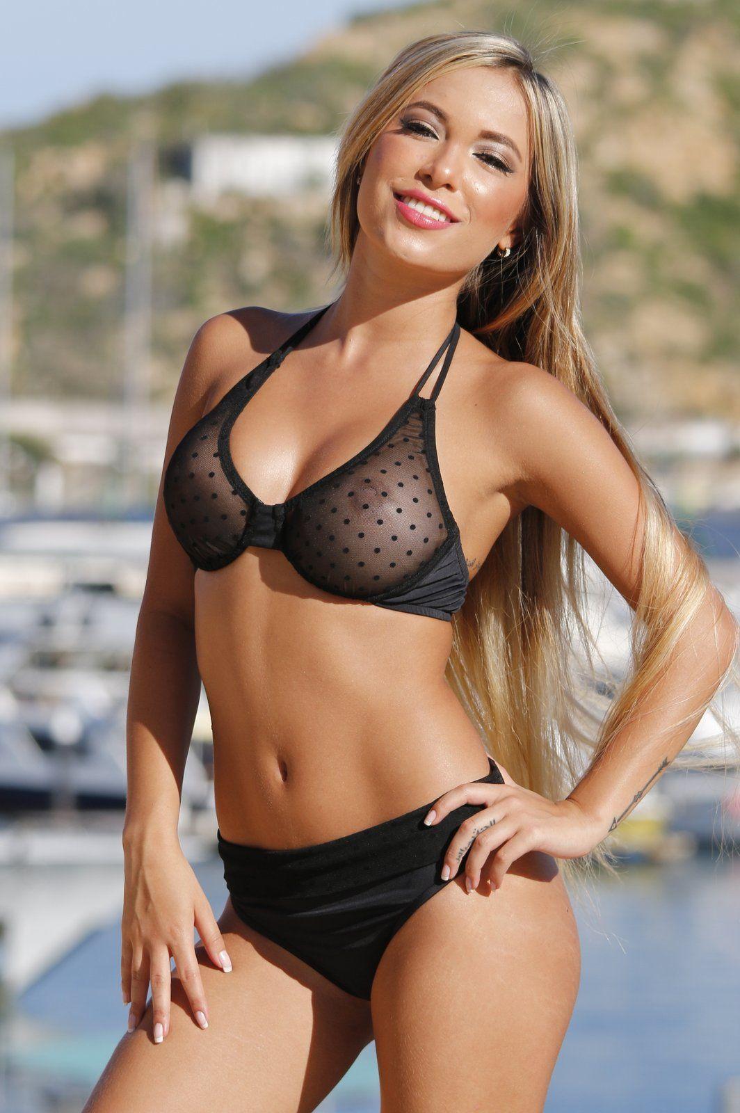 9db56613e27 #UjenaSwimwear #SheerBikini #Underwire #Thong Totally sexy yet  #SupportiveBikini
