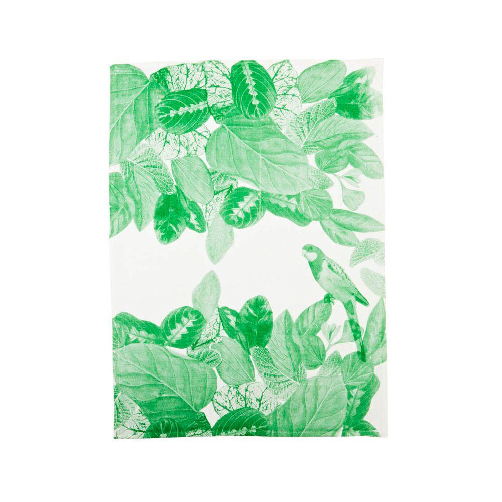 Jungle Green Bonnie And Neil Green Tea Towels Bonnie And Neil Tea Towels