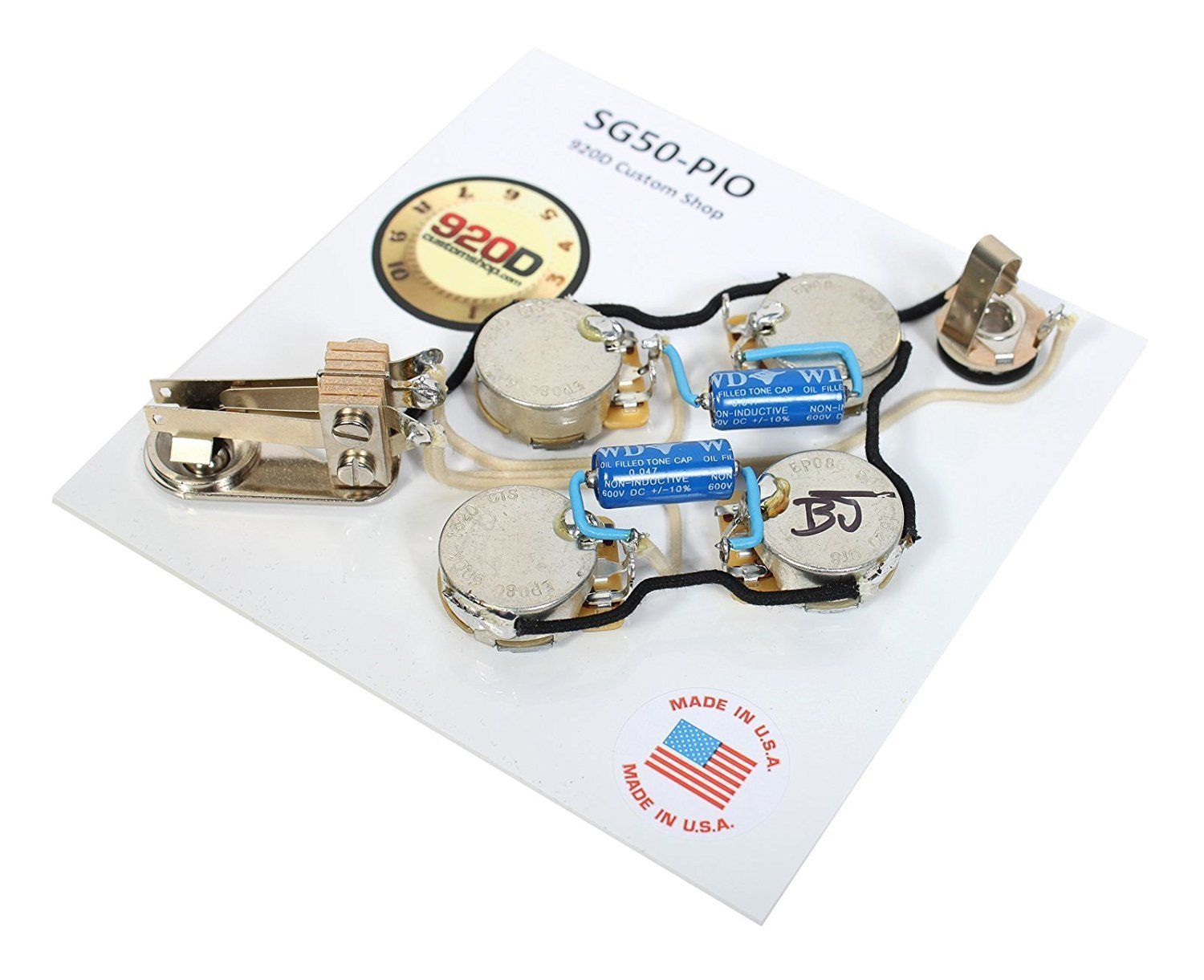gibson sg epiphone wiring harness cts 500k pots switchcraft pio caps new ebay [ 1500 x 1221 Pixel ]