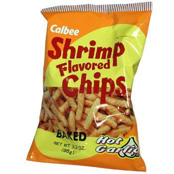 Old-School Calbee Shrimp Chips Costume