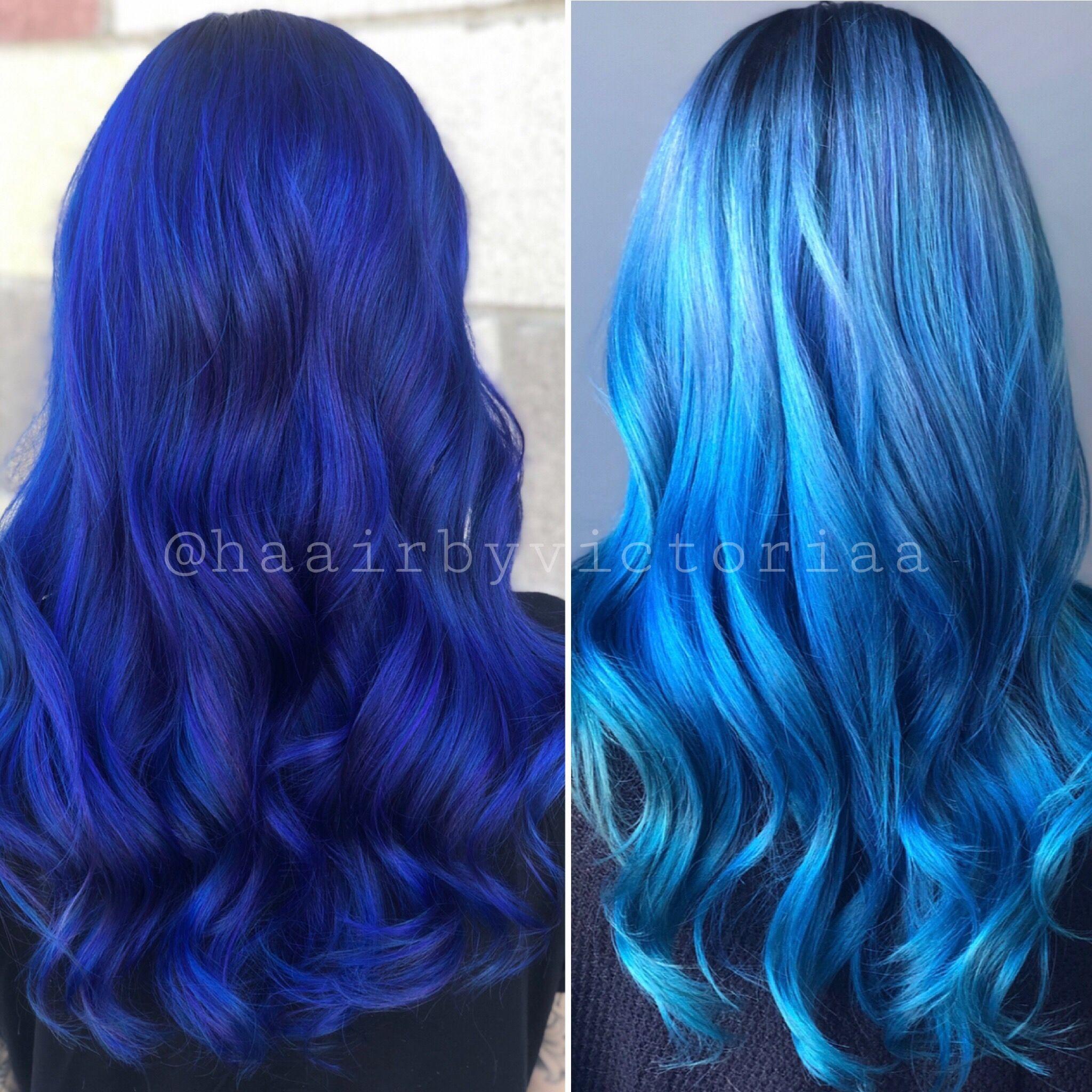 11 Week Fade Out Using Pravana Bluehair Pravana Haircolor Hair