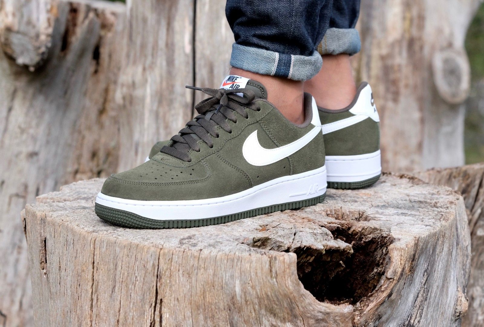 nike air force 1 cargo khaki dames